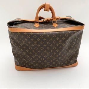 Louis Vuitton Brown Canvas Weekend/Travel Bag
